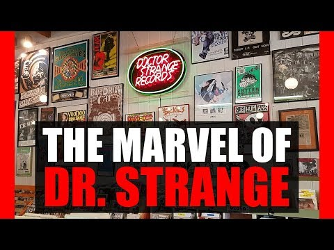 The Marvel of Dr. Strange - Record Store Digging
