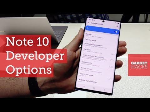 How To Enable Developer Options On The Galaxy Note 10 [Hands On]