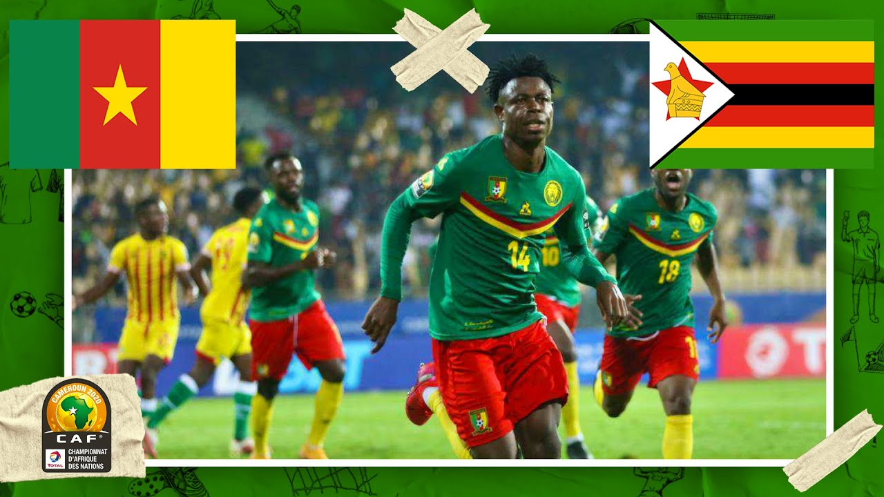 Cameroon vs Zimbabwe | AFRICAN NATIONS CHAMPIONSHIP HIGHLIGHTS | 1/16/2021 | beIN SPORTS USA