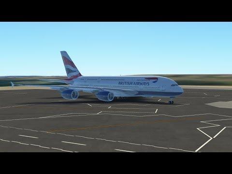 Around the Globe Series| New York to London : British Airways; Airbus A380-800 [Episode 1]