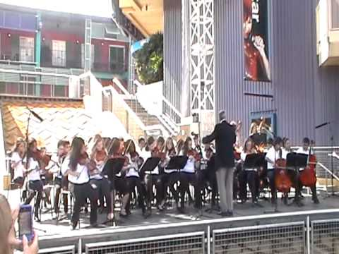 Adams Middle School Orchestra @Universal Studios Orlando Fl May/9/2011