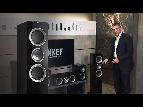 KEF The R Series product introduction