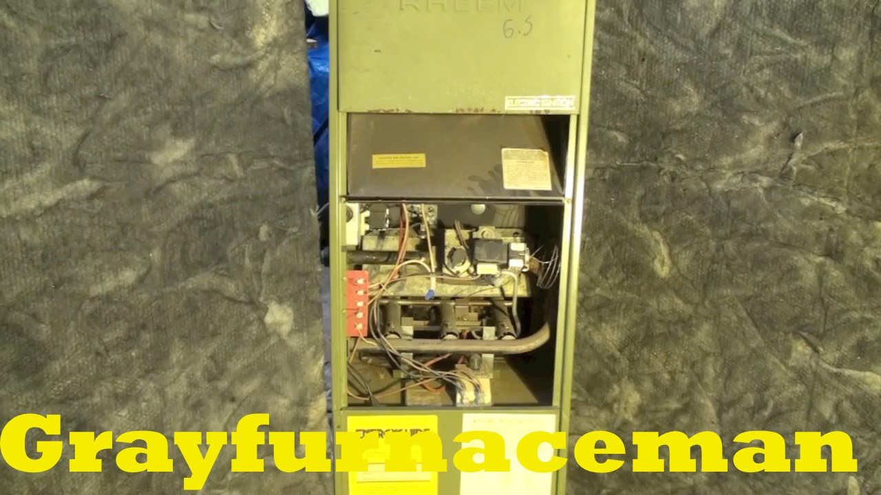 rheem model rdga electric ignition gas furnace youtubeRheem Rgda Furnace Wiring Diagram Model 0 75a Cr #12