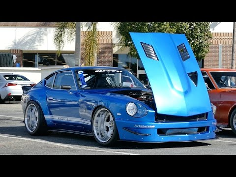 Wide Body Datsun 240Z with RB25 engine swap