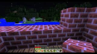 Играем в Minecraft - 2ая серия[Я и Лёха]