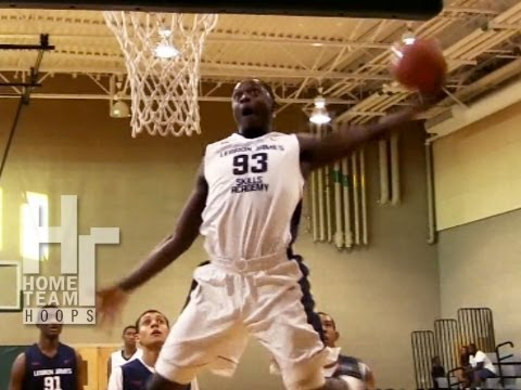 Stan Robinson Takes OFF On Defender!! Sick Top Plays From 2012 LeBron James Skills Academy!!