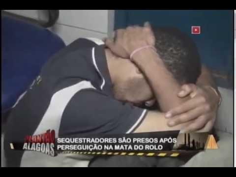 Sequestradores são presos após perseguição na Mata do Rolo
