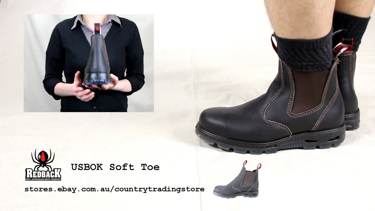 Redback Usbok Steel Toe Mens Boot Youtube