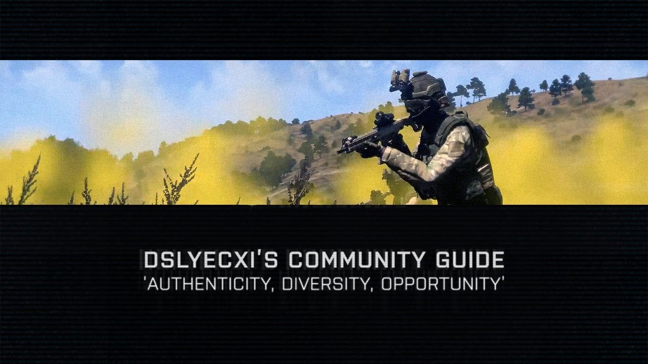 Arma 3 - Community Guide: Introduction