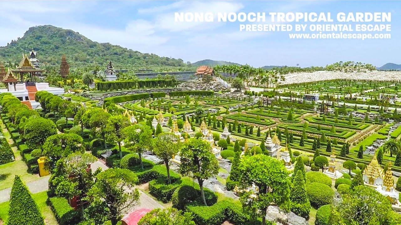 [HD] PATTAYA Nong Nooch garden overview