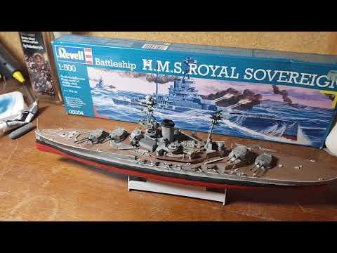 Building HMS royal Sovereign final part