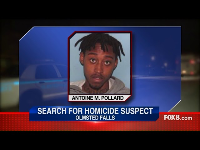 Search for homicide suspect in Olmsted Falls