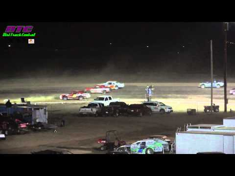 IMCA Stock Car A Feature Wakeeney Speedway Spring Fling 4-14-13