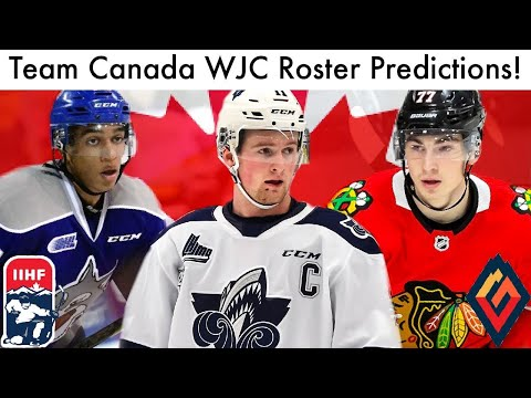 Team Canada 2020 WJC Roster Predictions! (World Juniors Alexis Lafreniere/Byfield/Dach Talk 2020)