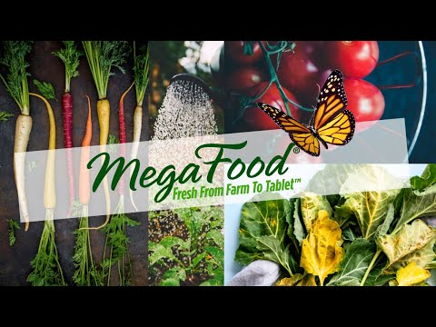 MegaFood Whole Food Nutritional Supplements
