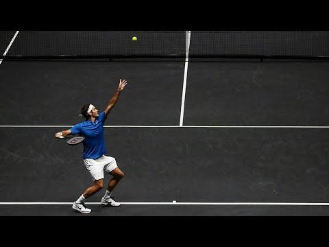 Roger Federer Vs Nick Kyrgios Laver Cup Full Match Highlights ( FULL HD )