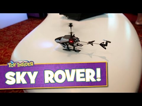 Auldey Sky Rover RC Voice Controlled Helicopter at Sweet Suite 2015