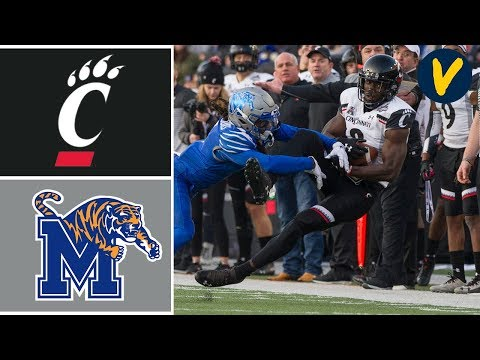 #20 Cincinnati vs #17 Memphis Highlights | 2019 American Athletic Conference Championship