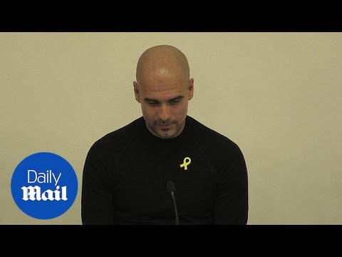 Pep Guardiola addresses University of Liverpool students