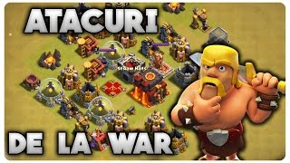 Atacuri de la war | Clash of Clans Romania