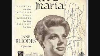 Jane Rhodes - Ave Maria - Franz Schubert