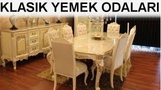 Nil Mobilya ²⁰¹⁴ | Klasik yemek odaları | Klasik yemek odası takımları
