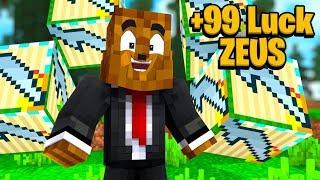 *HUGE Weapons* Greek God Lucky Block Money Hunt - Minecraft Modded Minigame   JeromeASF