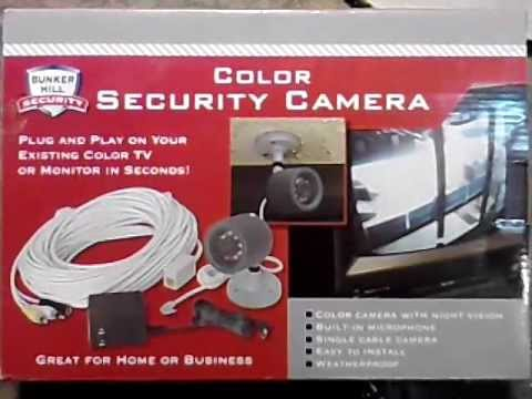 hqdefault harbor freight security camera youtube 47546 security tv camera wiring schematic at crackthecode.co