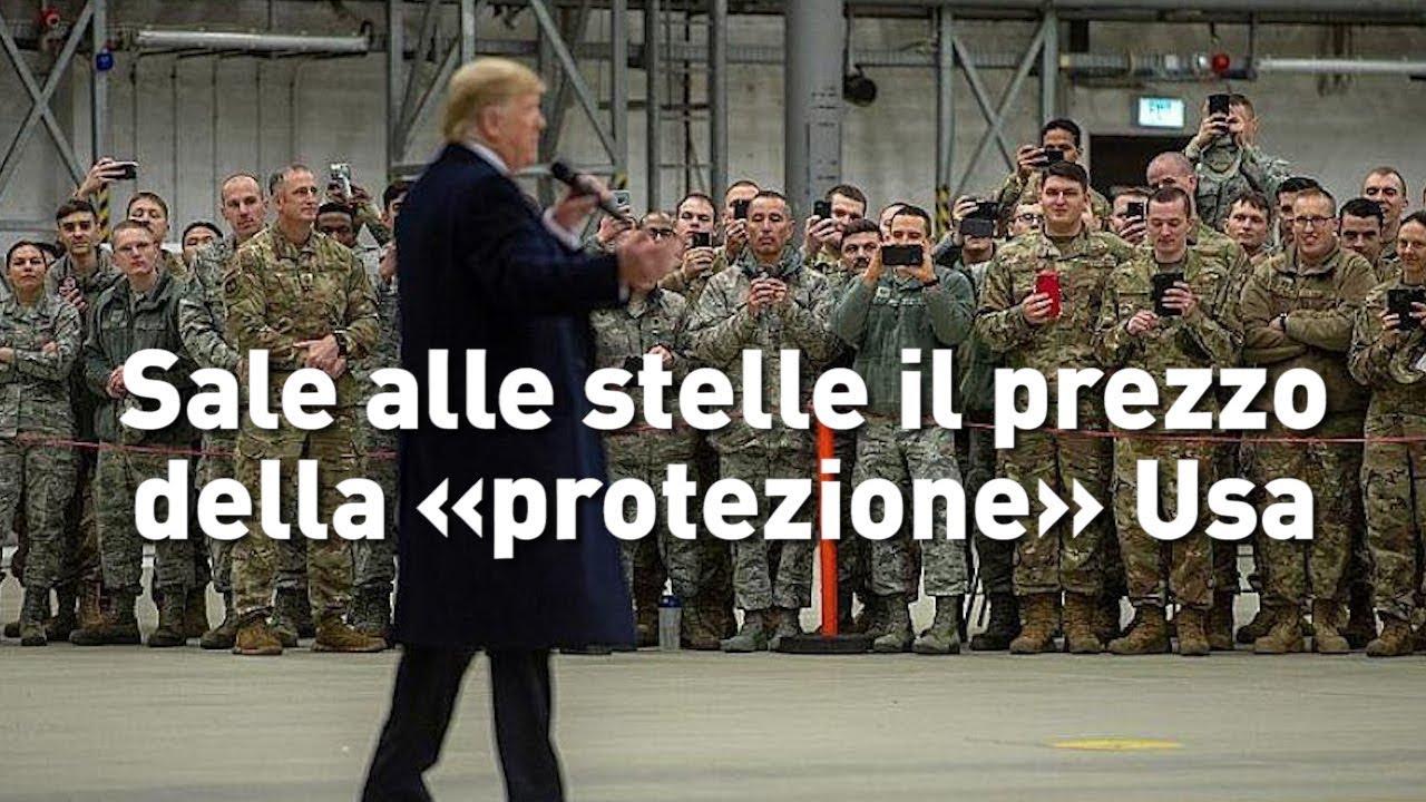 L'Arte della Guerra - Sale alle stelle il prezzo della «protezione» Usa (IT/FR/PT/RO/EN/NL/DE)