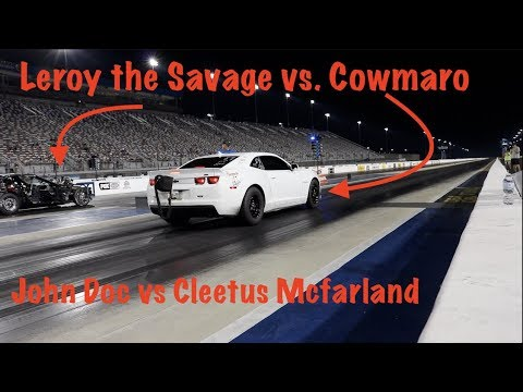 Leroy the Savage vs. The Cowmaro! Street Car Takeover Charlotte
