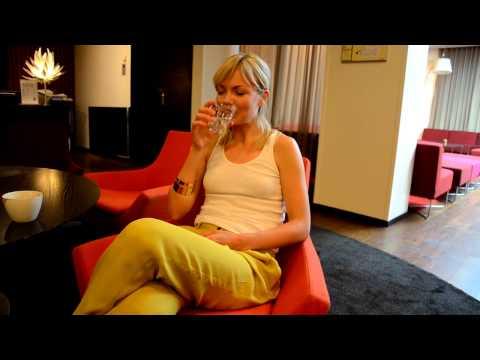 Marie Robertson  Intervju inför Cockpit