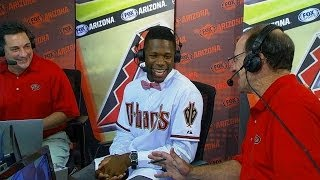 SF@ARI: Toussaint discusses signing with the D-backs