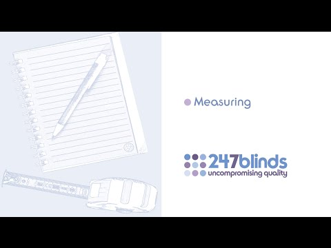 How to Measure for Blinds
