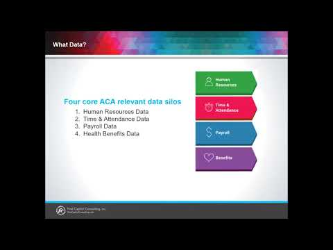 What are the Four Core ACA Relevant Data Silos?