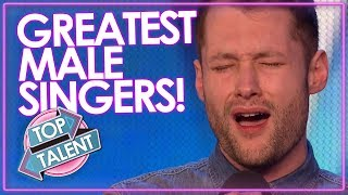 5 GREATEST MALE SINGERS EVER on Got Talent X Factor & Idol | YOU WONT BELIEVE THERE VOICES! MP3