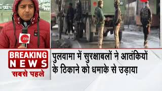 J&K encounter: All the terrorist hiding in the house blown by security forces