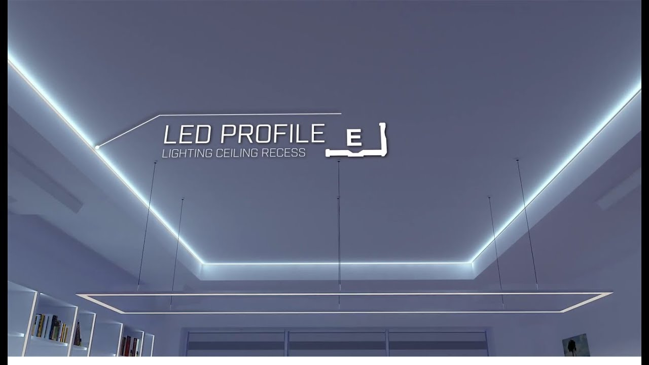 Profile Quot E Quot Lumines Led Lights Installation Mounting