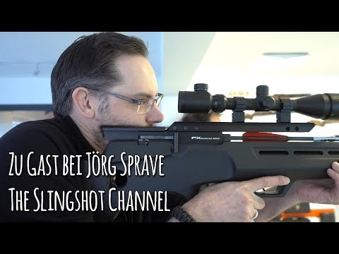 Zu Besuch bei Jörg Sprave, The Slingshot Channel, Produkte und Interview - Let's Shoot #132