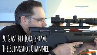 Zu Besuch bei Jörg Sprave, The Slingshot Channel, Produkte und Interview - Let's Shoot #132