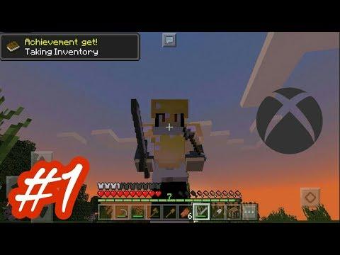 Consiguiendo Logros |Dame El Logro Ep #1| Minecraft Pocket Edition 1.1.1|El Kyo|