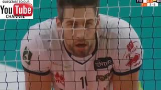 Itas Trentino vs Azimut Modena l 2018 2019 Italy Men Volleyball Superliga Full Match Highlights - HD