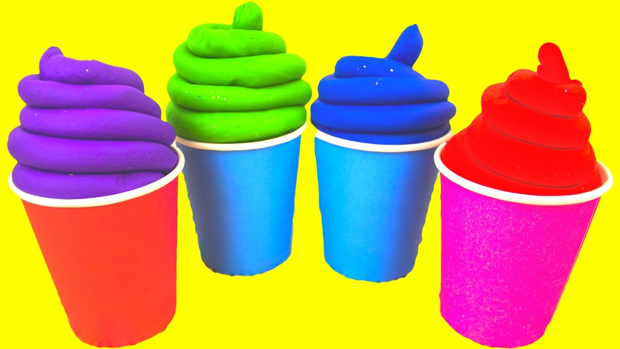 Squishy Ball Play Doh : Play Doh Ice Cream Toys for Kids Squishy Balls Play Foam Eggs Surprise Toys - YouTube