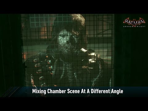 CAM; Batman; Arkham Knight; Mixing Chamber At A Different Angle