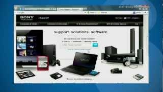 Como Actualizar el Firmware de su Reproductor Sony Blu-Ray Disc™ sin conectividad a la Red