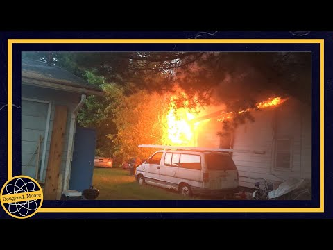 House on Fire May 28, 2017 Williamstown, WV