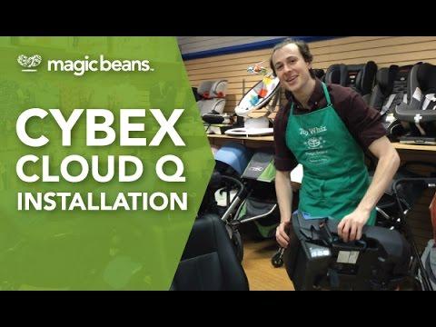 Cybex Cloud Q Car Seat Installation