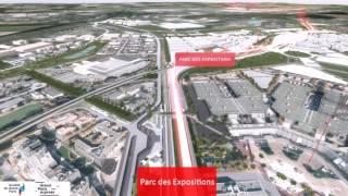 La ligne 17 du Grand Paris Express en 3D