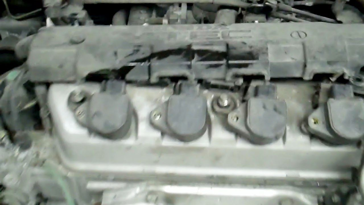 medium resolution of how to do a timing belt and water pump on a honda civic 1 7 liter engine