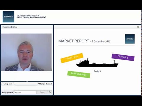 Entrima - Market report - 20151203 - Freight (Energy Trading & Risk Management)