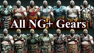 God of War - All New Game Plus Maxed Perfect Gears & Stats